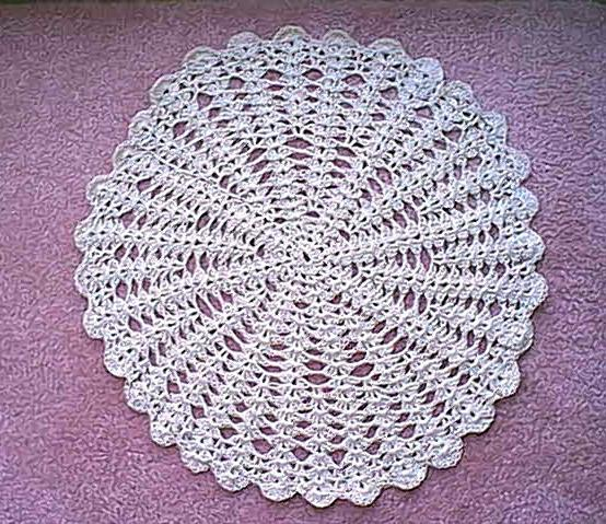 Crochet Doilies With ? Crochet Club